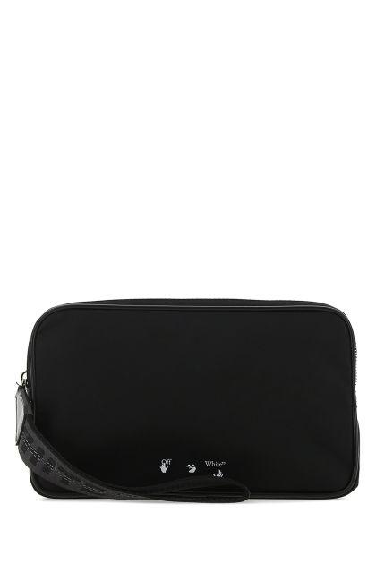 Black nylon clutch