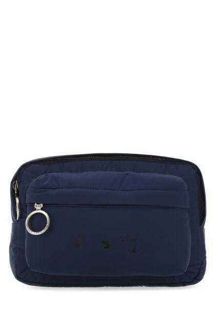 Blue polyester belt bag