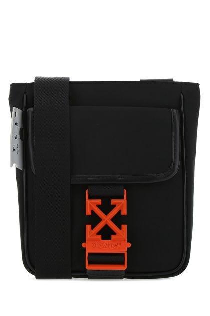 Black nylon small Arrow crossbody bag