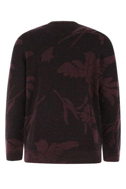 Plum wool blend sweater