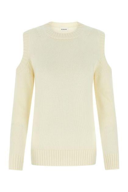 Cream wool Lori sweater