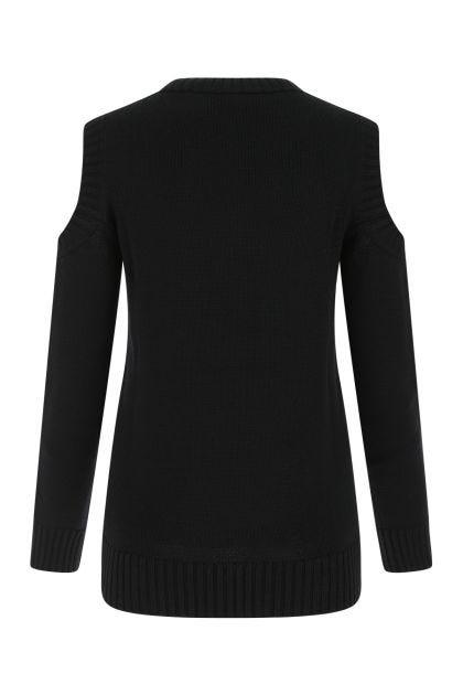 Black wool Lori sweater
