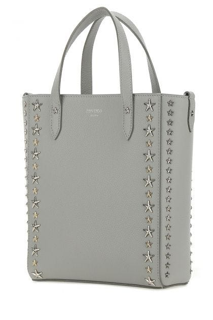 Light grey leather Pegasi handbag