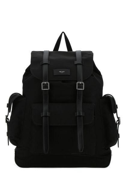 Black nylon Filmore backpack