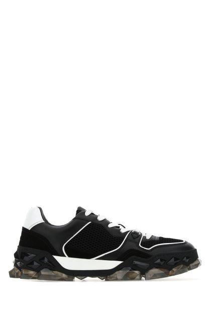 Two-tone Diamond X Trainer sneakers