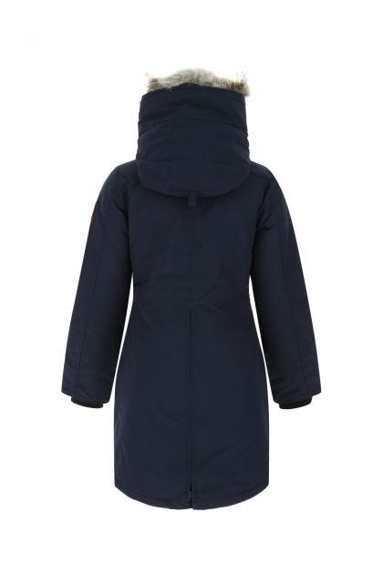Dark blue polyester blend Rossclair down jacket