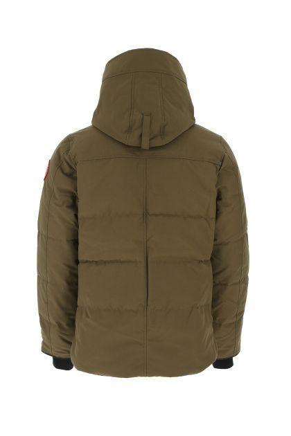 Khaki polyester blend MacMillian down jacket