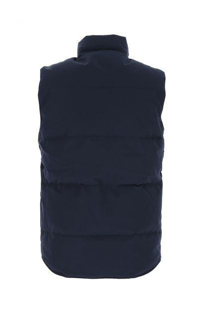 Midnight blue nylon blend Freestyle down jacket