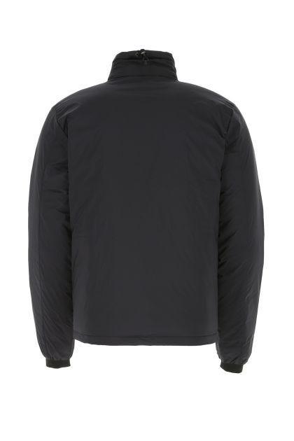 Black nylon Lodge down jacket