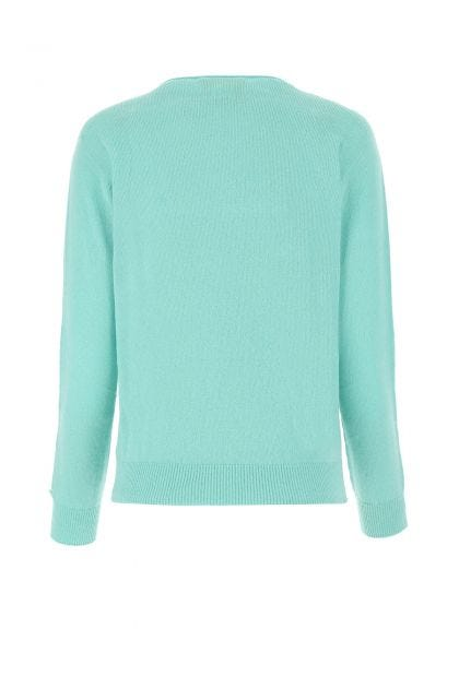 Aquamarine cashmere sweater