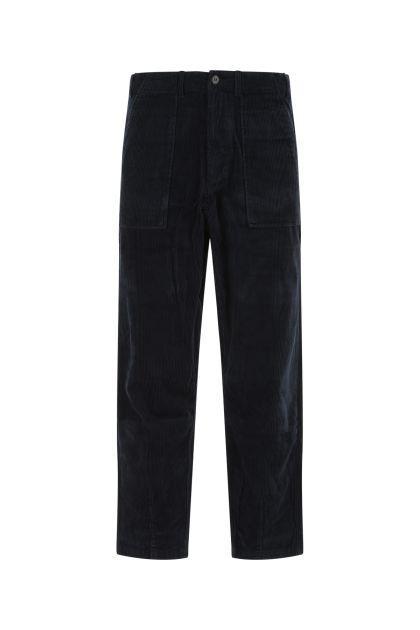 Navy blu corduroy pant