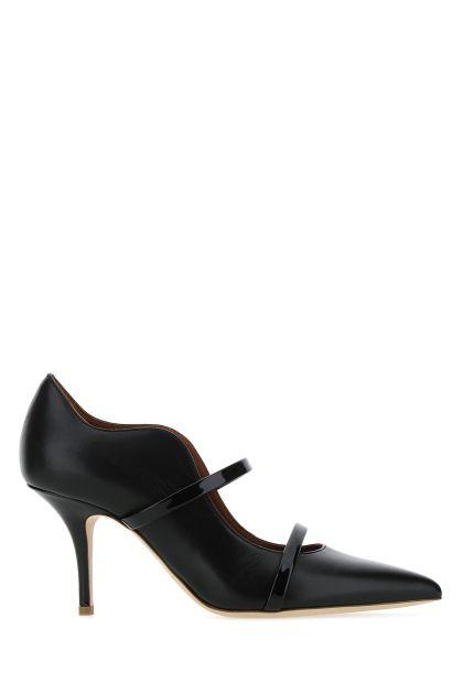 Black leather Maureen pumps