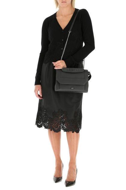 Black nylon skirt