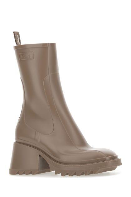 Cappuccino PVC Betty boots