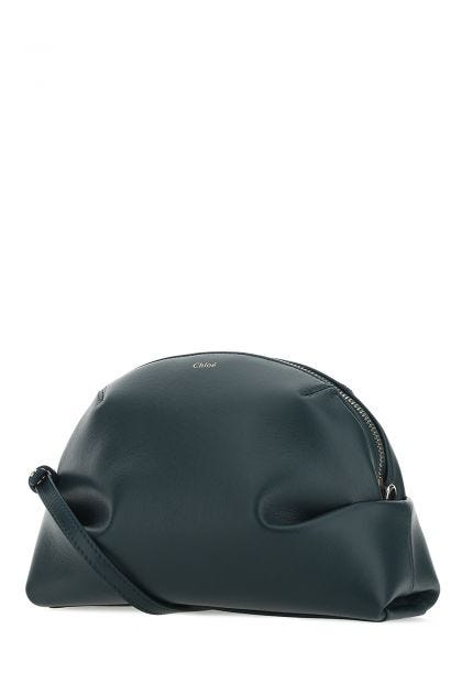 Petroleum leather mini Judy shoulder bag