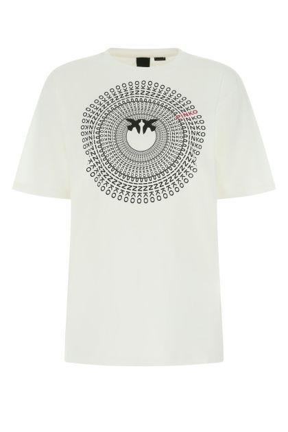 White cotton oversize t-shirt