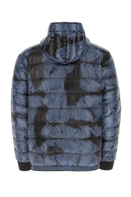 Printed nylon Charlos down jacket