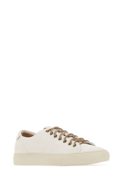 Chalk suede sneakers