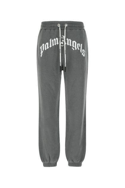 Dark grey cotton joggers