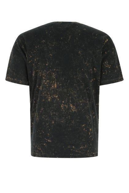Two-tone cotton t-shirt