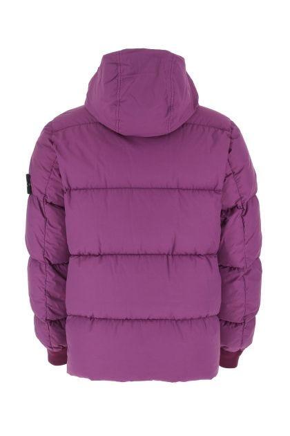 Amethyst nylon down jacket