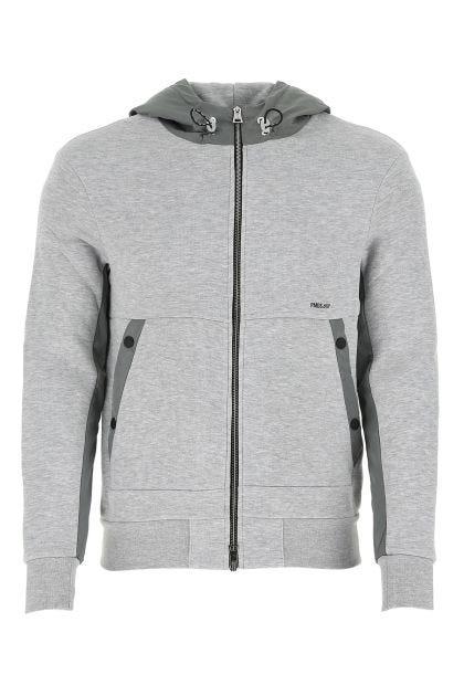 Melange grey cotton blend Anthime sweatshirt