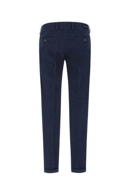 Blue stretch cotton blend Mucha pant