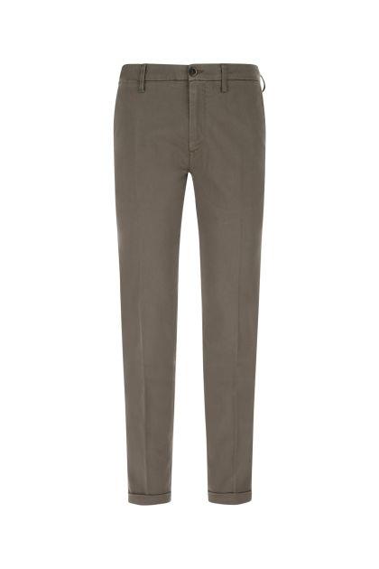 Dove grey stretch cotton Mucha pant