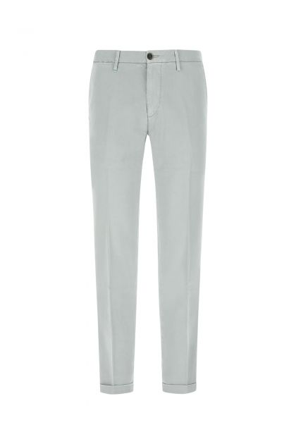Light grey stretch cotton Mucha pant