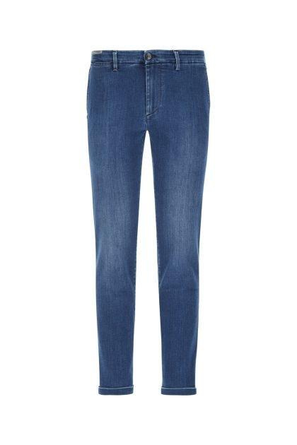 Blue stretch denim blend Mucha jeans