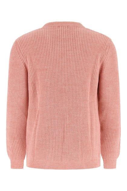 Pink wool blend sweater