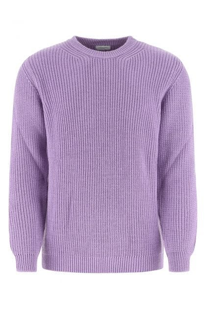 Lilac wool blend sweater