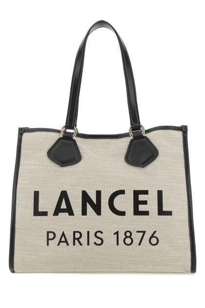Sand jute large Cabas shopping bag