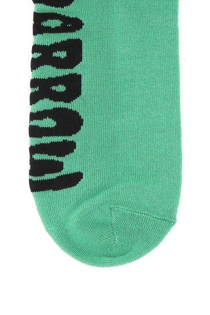 Multicolor stretch cotton blend socks