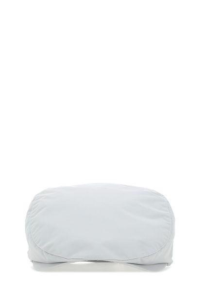 Chalk nylon flat cap