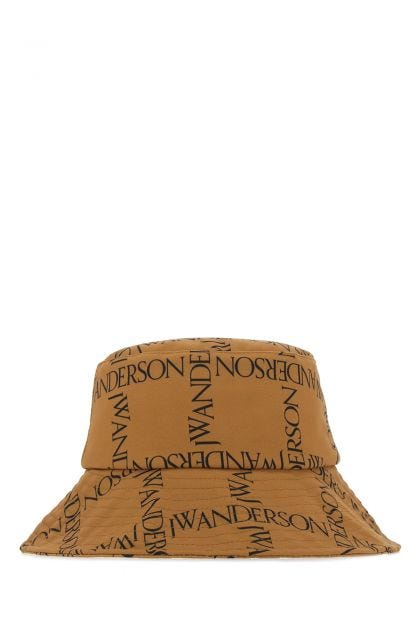 Printed polyester bucket hat