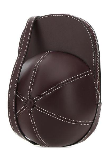 Dark brown leather medium Cap crossbody bag