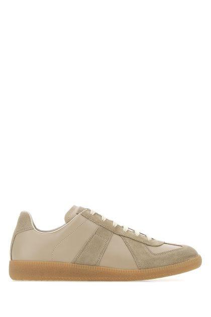 Cappuccino leather Replica sneakers