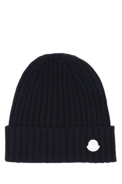 Midnight blue 4 Moncler Hike beanie hat