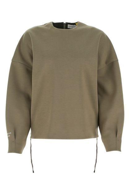 Khaki 4 Moncler Hike sweatshirt