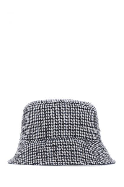 Multicolor stretch polyester blend bucket hat