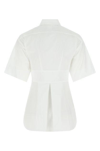 White cotton Giro shirt