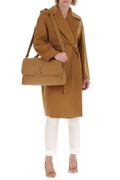 Caramel wool blend 3Fazio coat