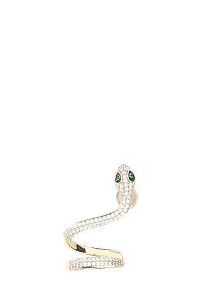 925 silver Snake earring