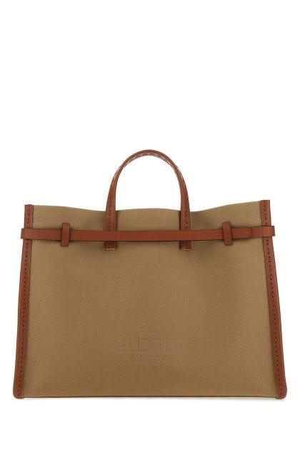 Kakhi fabric shopping bag