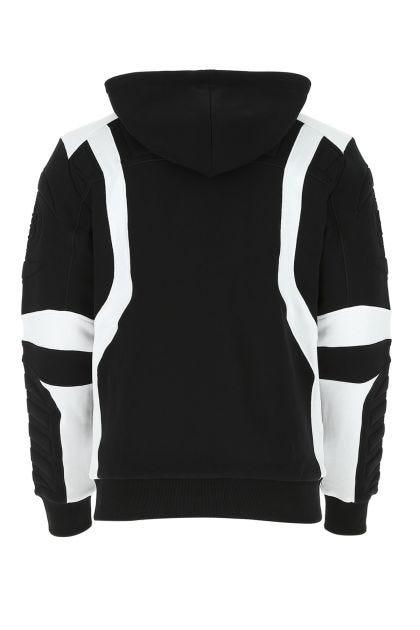 Two-tone cotton sweatshirt