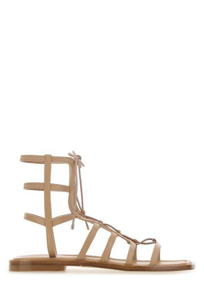 Skin pink leather Kora sandals