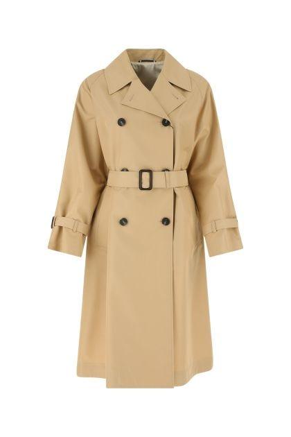 Beige cotton blend Dama trench coat