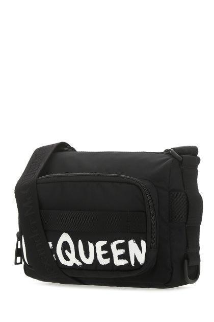 Black nylon Urban crossbody bag