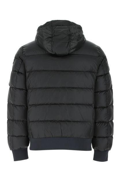 Black polyester blend Pharrel down jacket